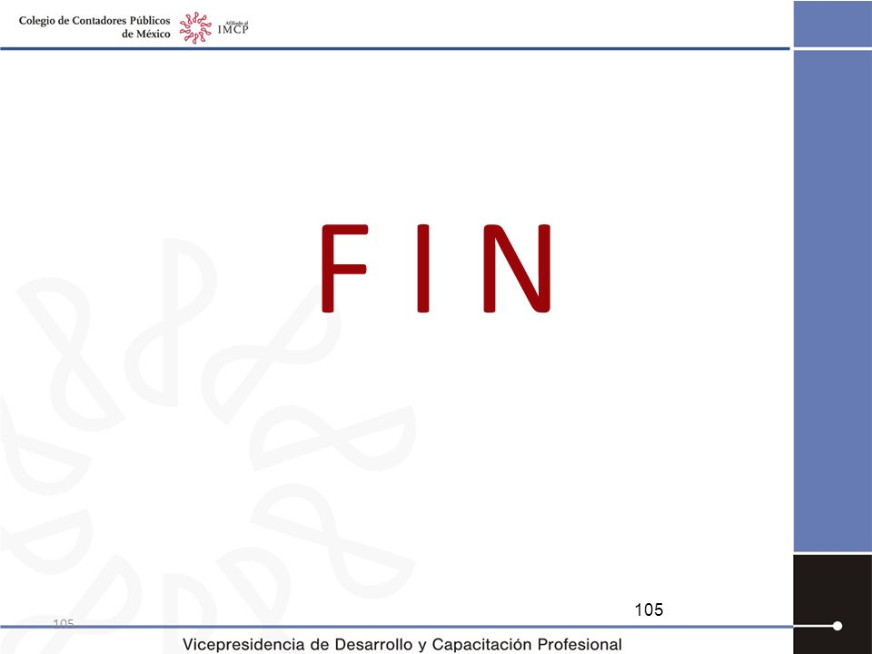 F I N 105