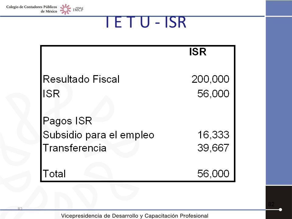 I E T U - ISR 82 82