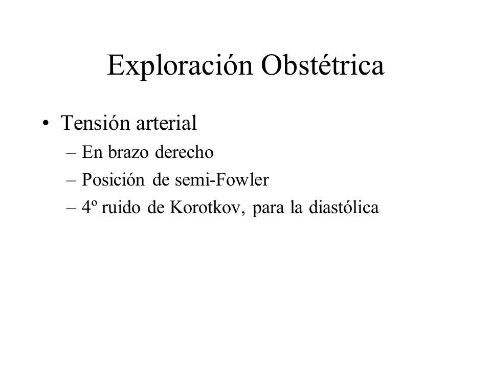 Exploración Obstétrica