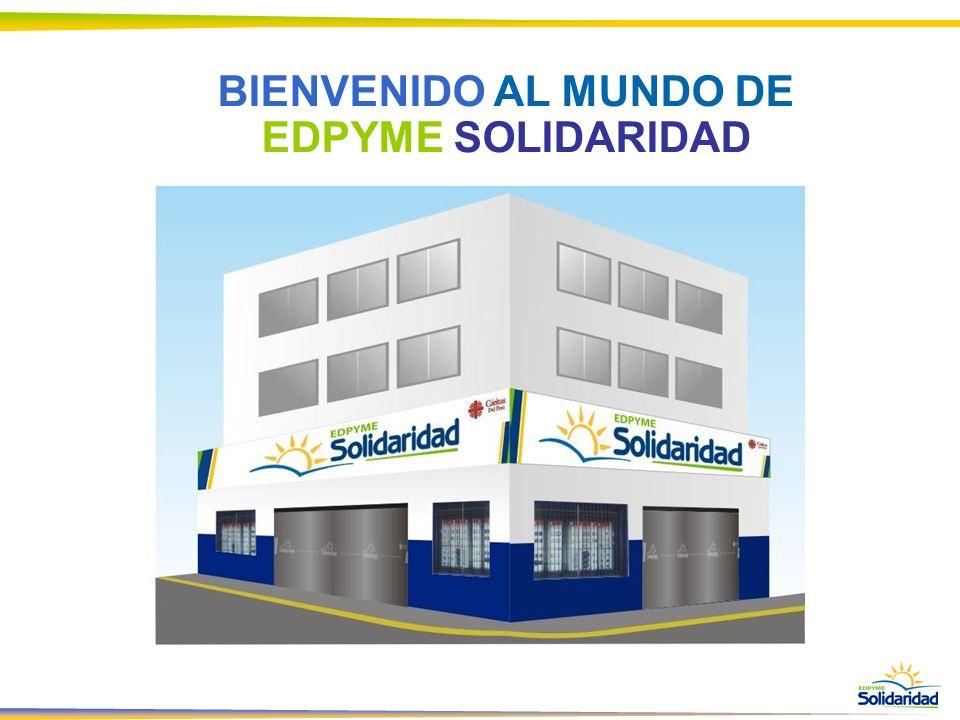 BIENVENIDO AL MUNDO DE EDPYME SOLIDARIDAD