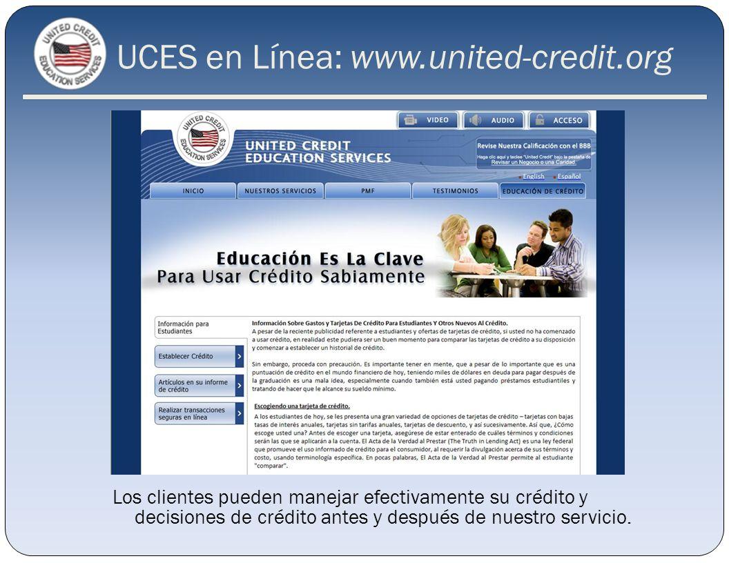 UCES en Línea: www.united-credit.org
