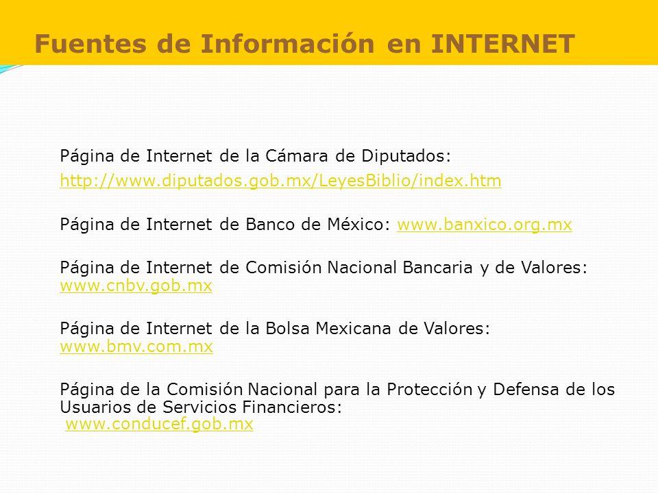 Fuentes de Información en INTERNET