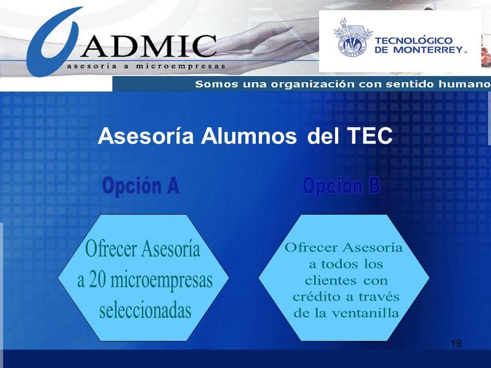 Asesoría Alumnos del TEC