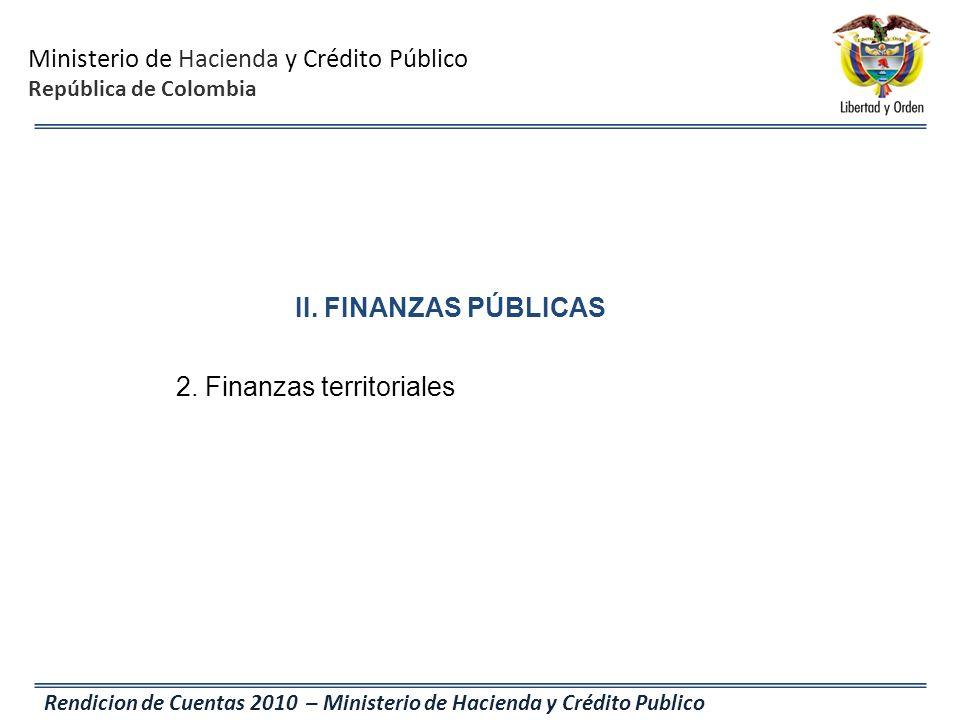 2. Finanzas territoriales