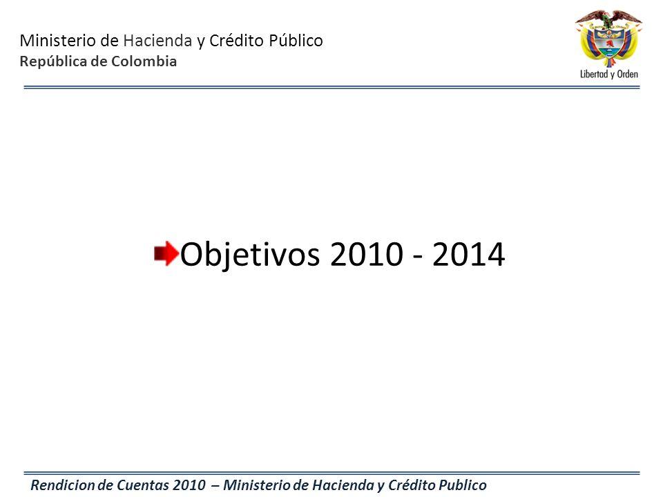 Objetivos 2010 - 2014