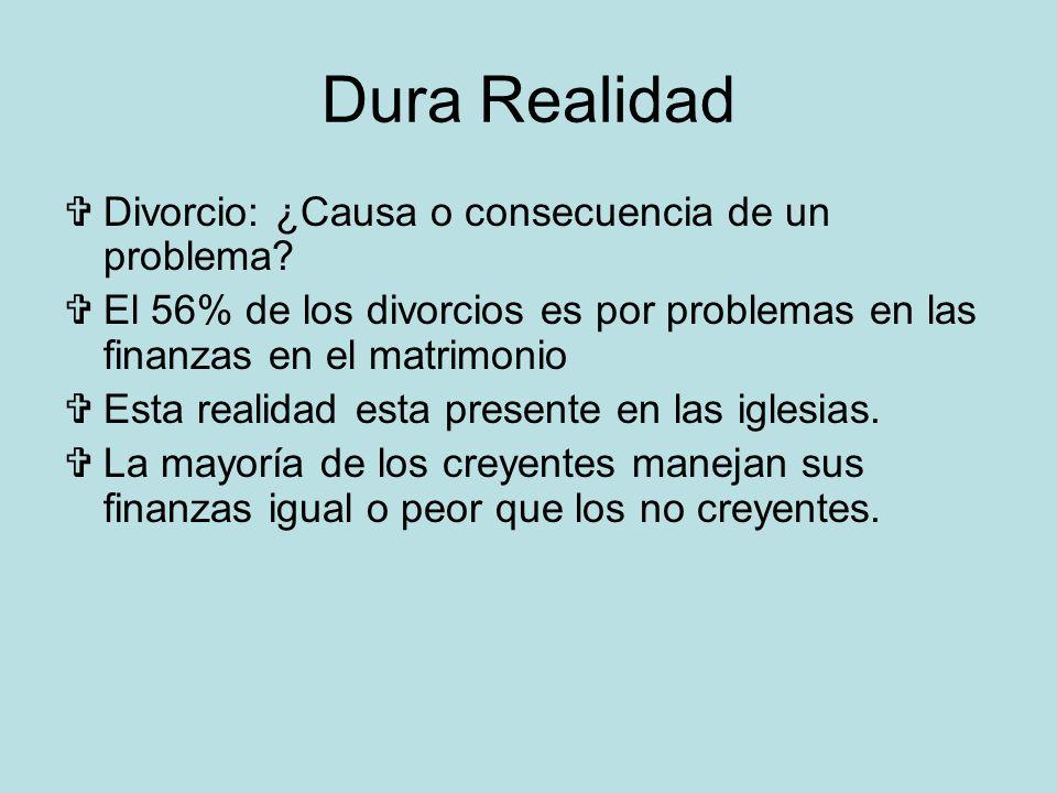 Dura Realidad Divorcio: ¿Causa o consecuencia de un problema