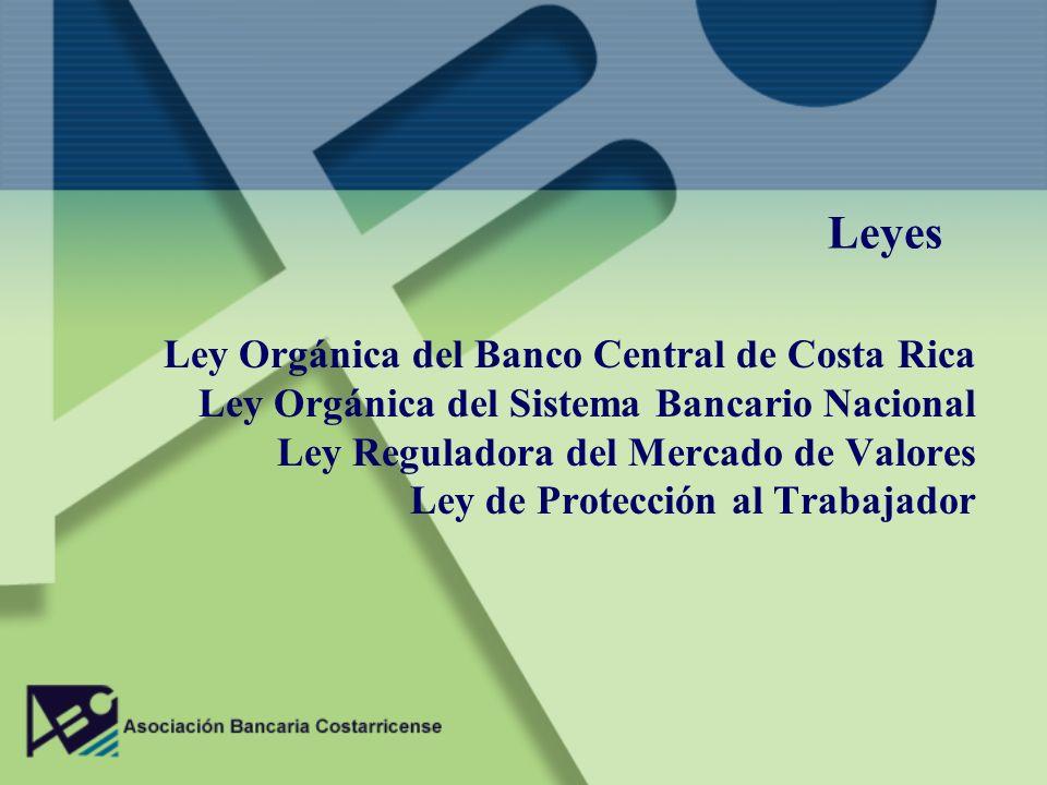 Leyes Ley Orgánica del Banco Central de Costa Rica