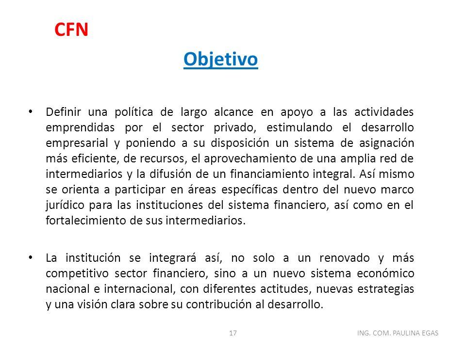 CFN Objetivo.