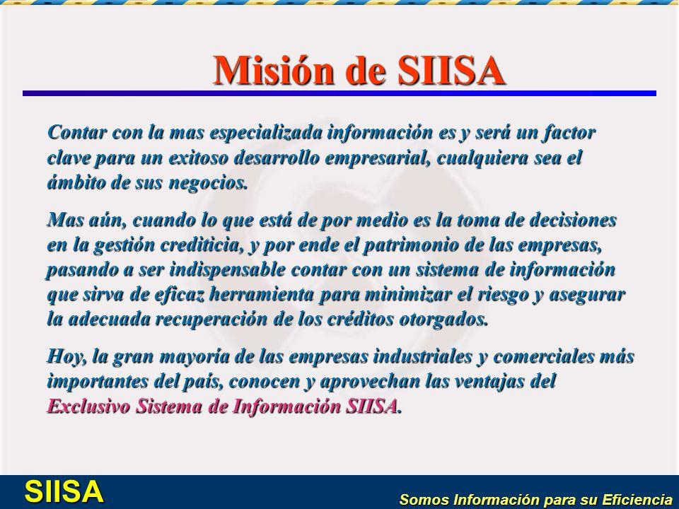 Misión de SIISA