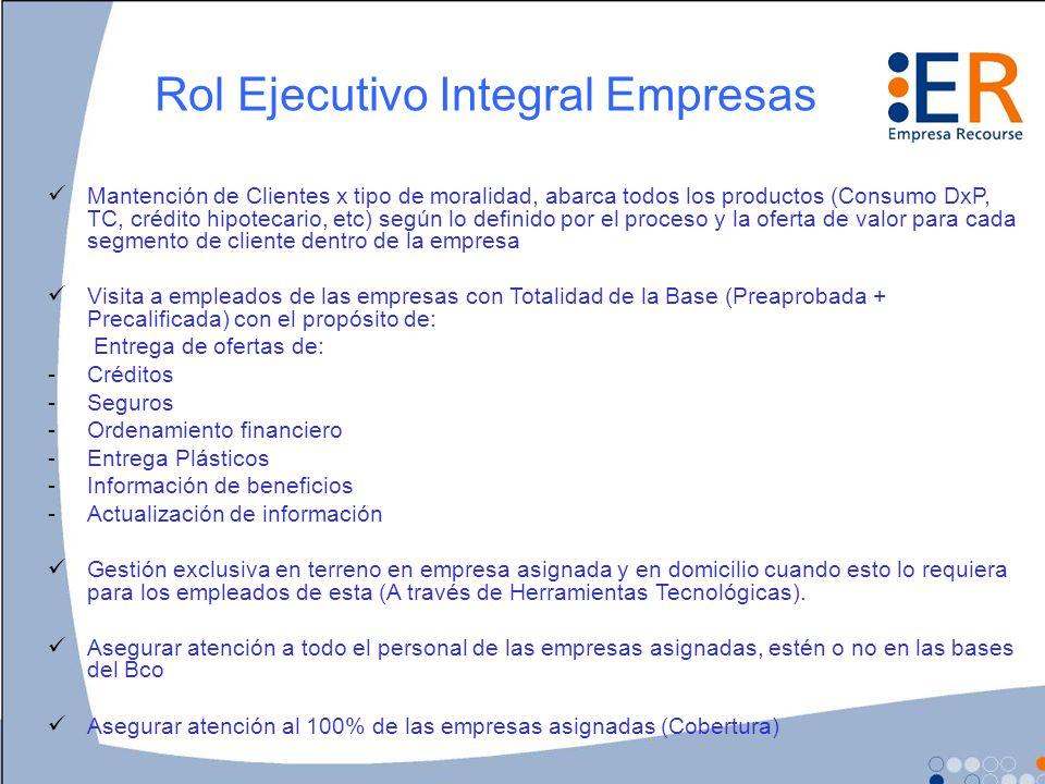 Rol Ejecutivo Integral Empresas