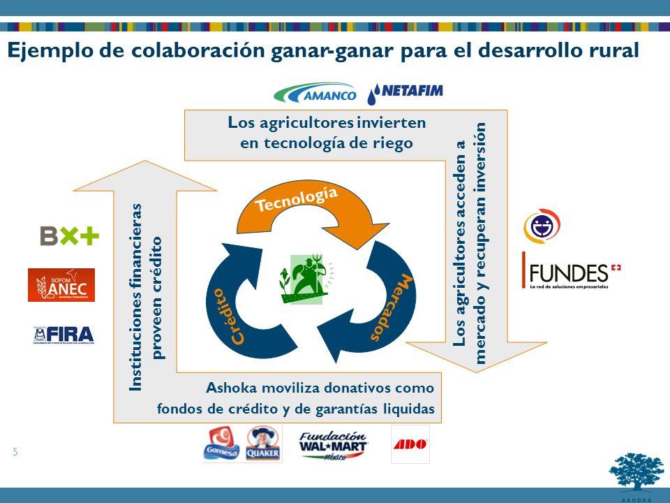 Ejemplo de colaboración ganar-ganar para el desarrollo rural