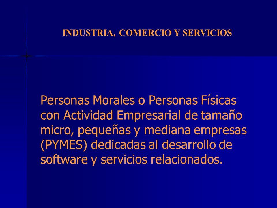 INDUSTRIA, COMERCIO Y SERVICIOS