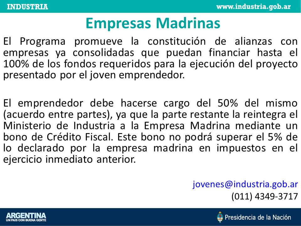 Empresas Madrinas