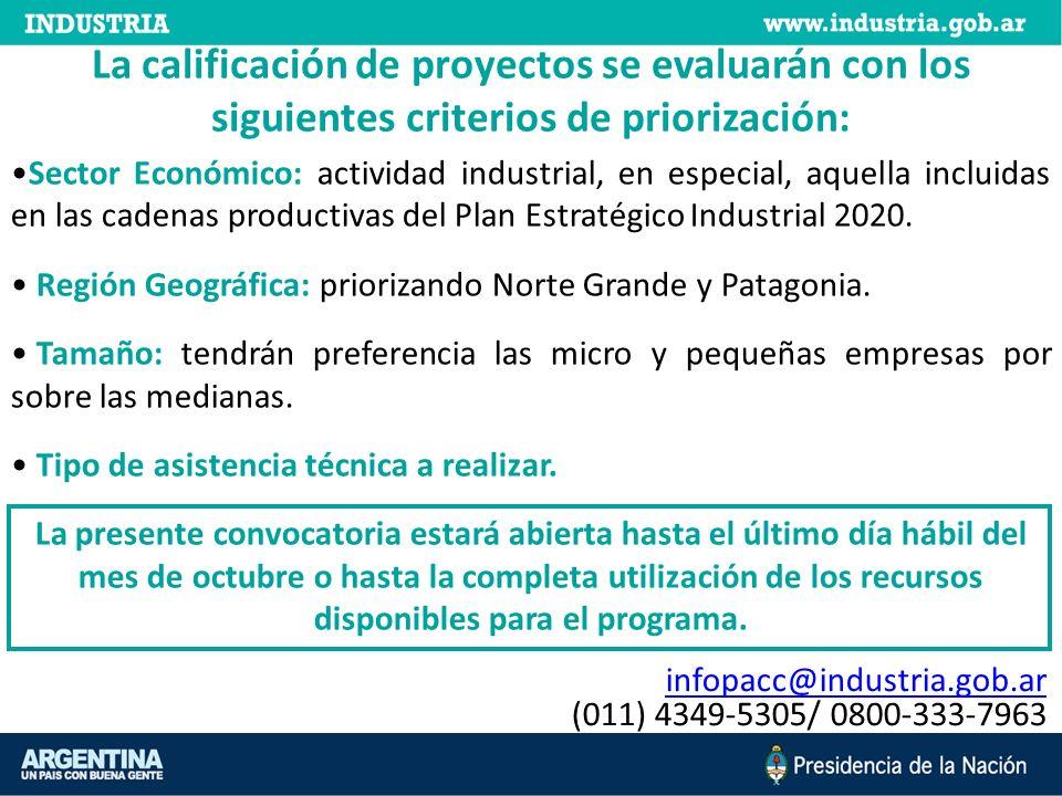 infopacc@industria.gob.ar (011) 4349-5305/ 0800-333-7963