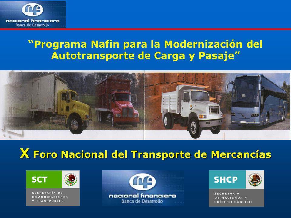 X Foro Nacional del Transporte de Mercancías