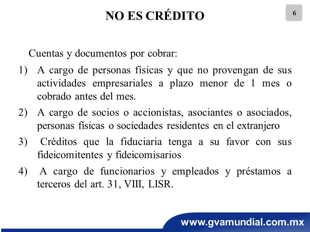 Cuentas y documentos por cobrar: