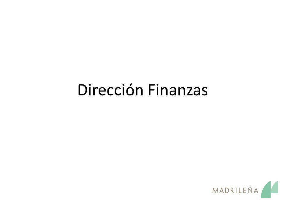 Dirección Finanzas