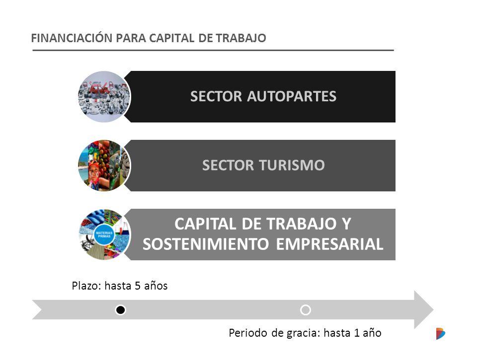 CAPITAL DE TRABAJO Y SOSTENIMIENTO EMPRESARIAL