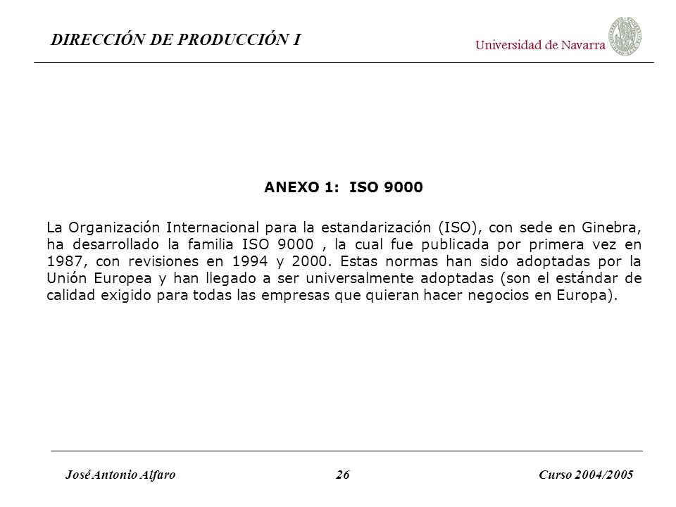 ANEXO 1: ISO 9000