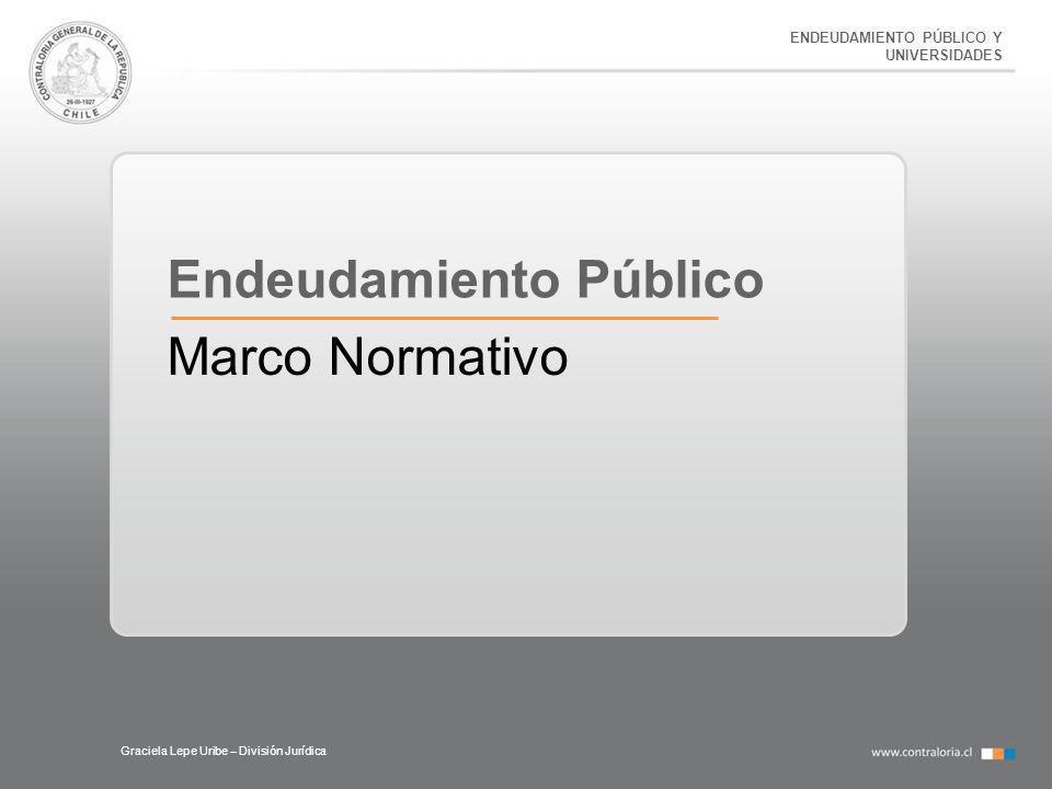 Endeudamiento Público Marco Normativo