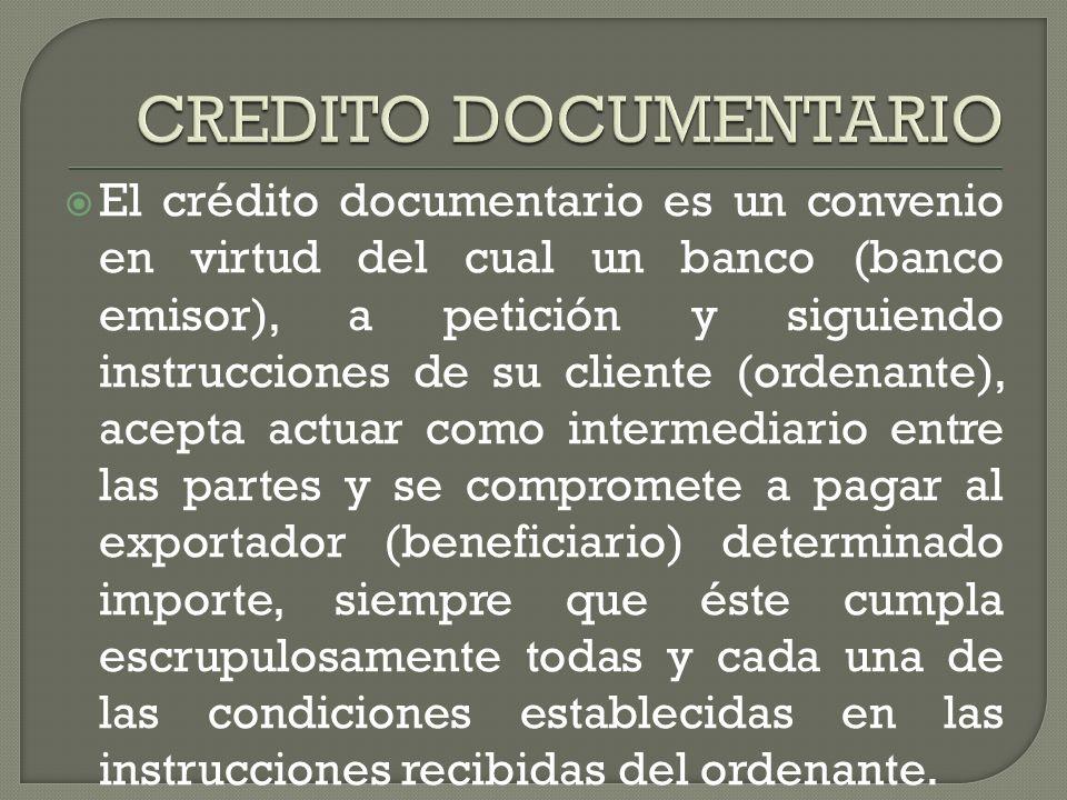 CREDITO DOCUMENTARIO