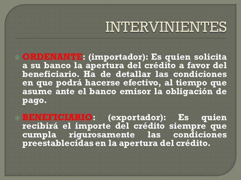 INTERVINIENTES