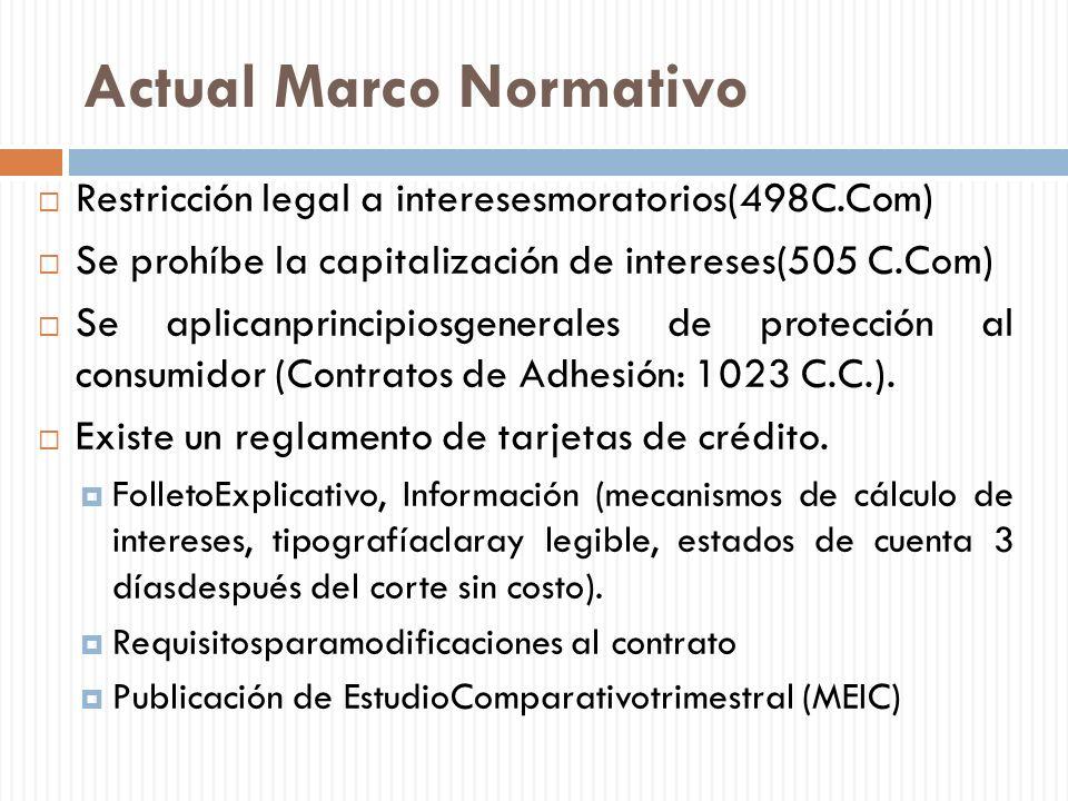 Actual Marco Normativo