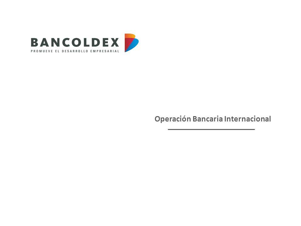 Operación Bancaria Internacional