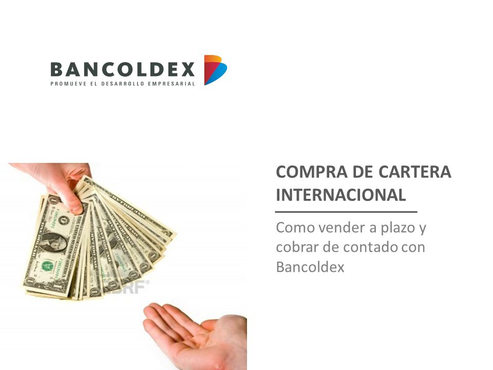 COMPRA DE CARTERA INTERNACIONAL