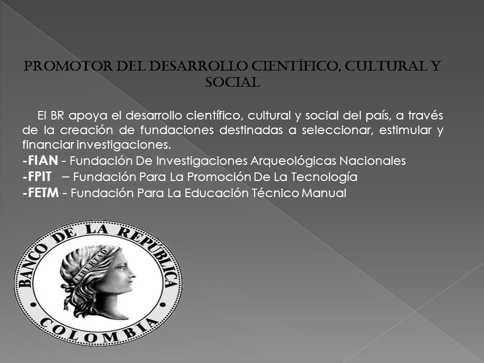 Promotor del Desarrollo Científico, Cultural y Social