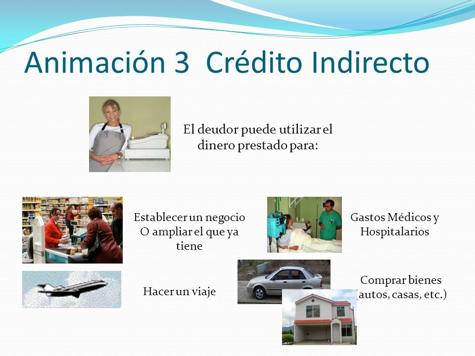 Animación 3 Crédito Indirecto