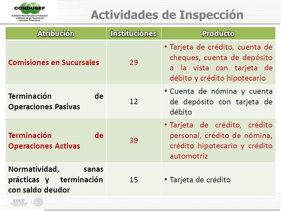 Actividades de Inspección