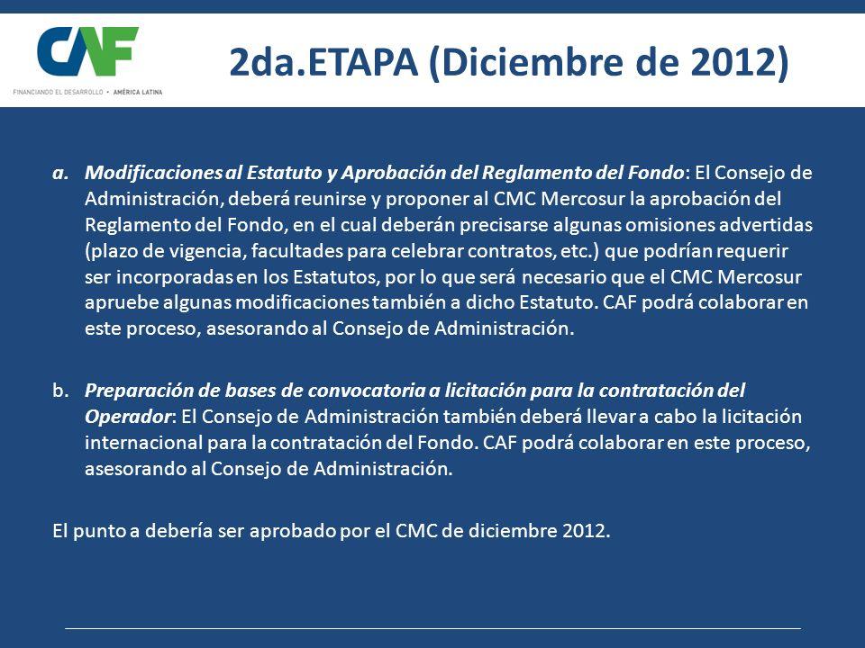 2da.ETAPA (Diciembre de 2012)