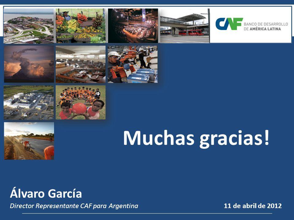 Muchas gracias! Álvaro García