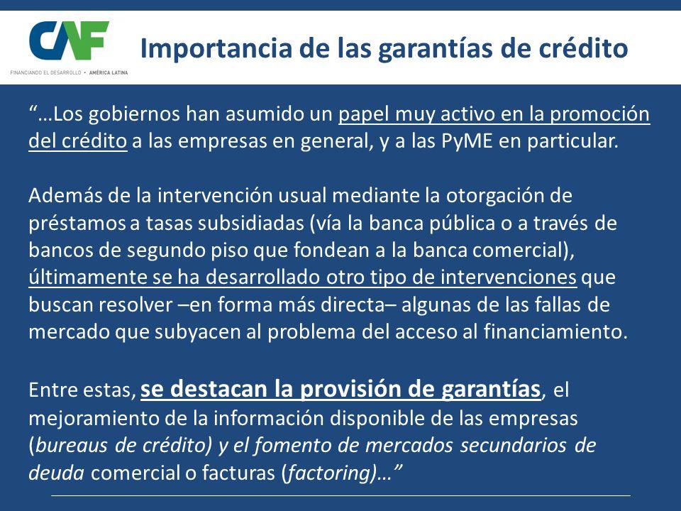 Importancia de las garantías de crédito
