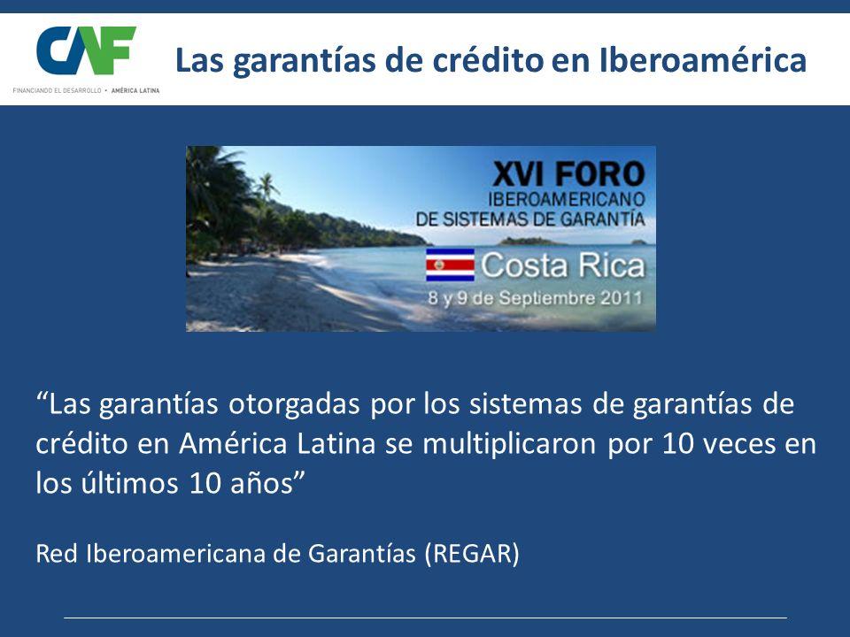 Las garantías de crédito en Iberoamérica