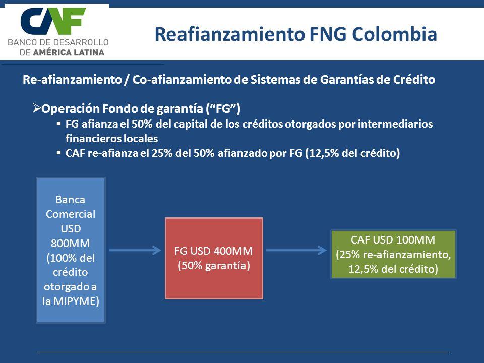 Reafianzamiento FNG Colombia