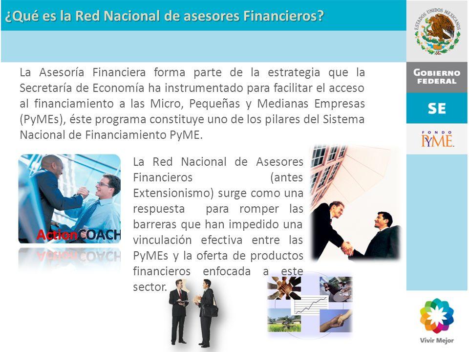 ¿Qué es la Red Nacional de asesores Financieros