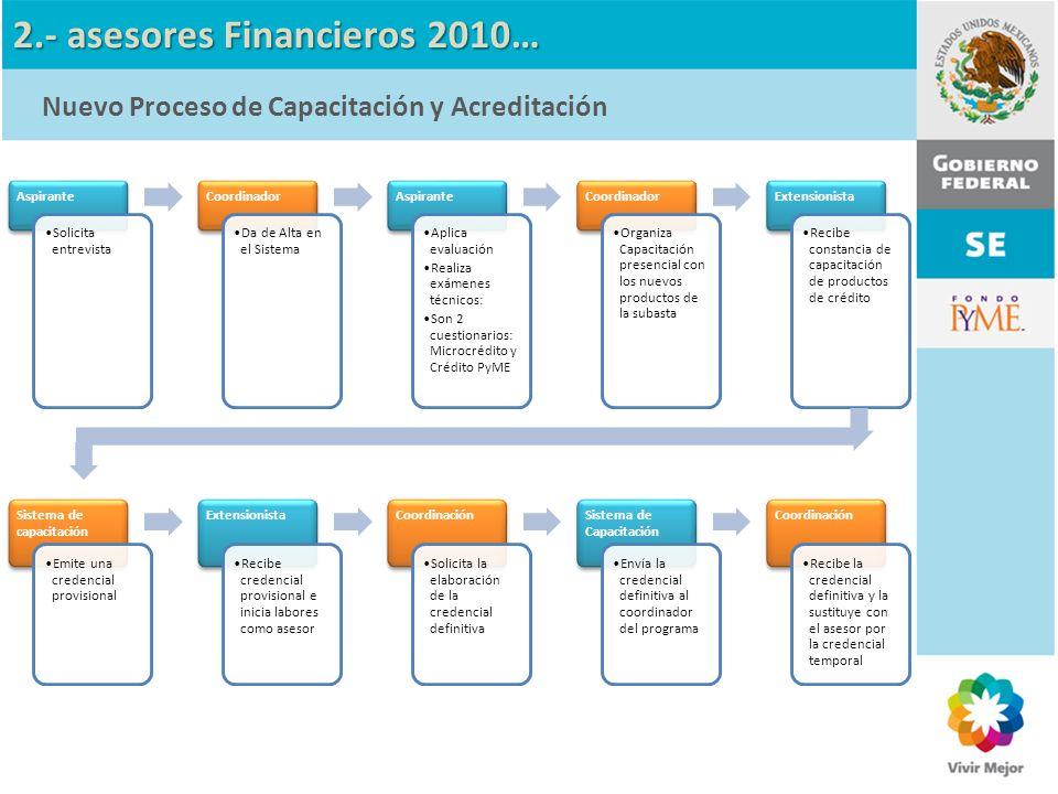 2.- asesores Financieros 2010…