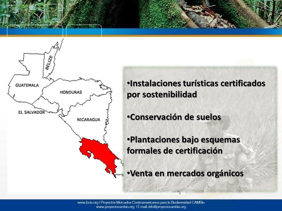 Instalaciones turísticas certificados por sostenibilidad