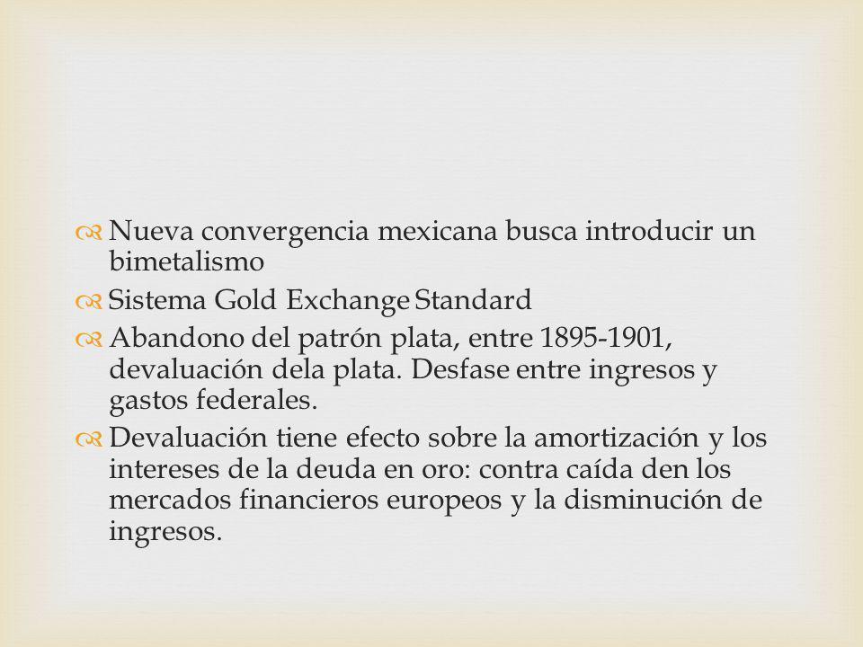 Nueva convergencia mexicana busca introducir un bimetalismo