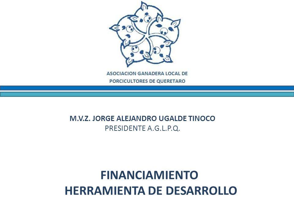 M.V.Z. JORGE ALEJANDRO UGALDE TINOCO PRESIDENTE A.G.L.P.Q.