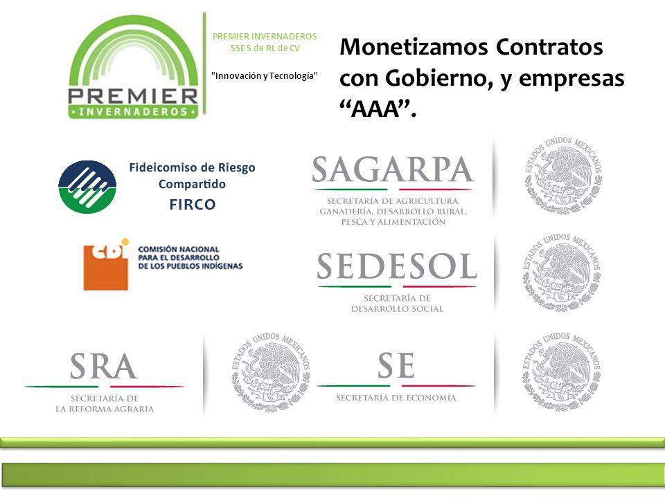 PREMIER INVERNADEROS SSE S de RL de CV Innovación y Tecnología