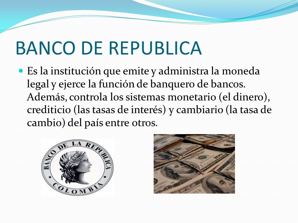 BANCO DE REPUBLICA