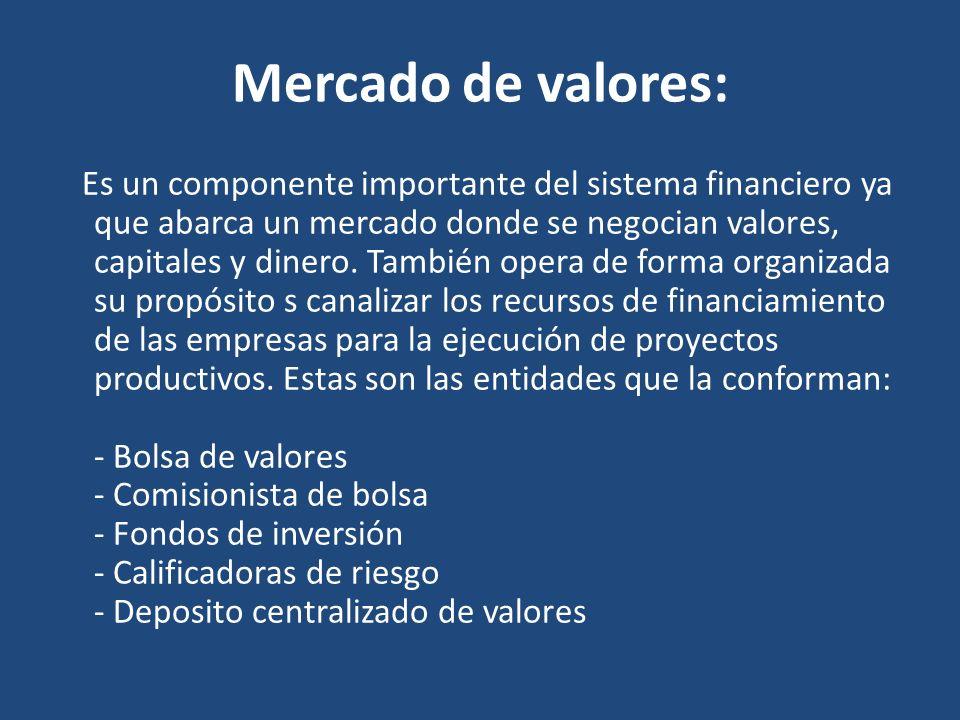 Mercado de valores: