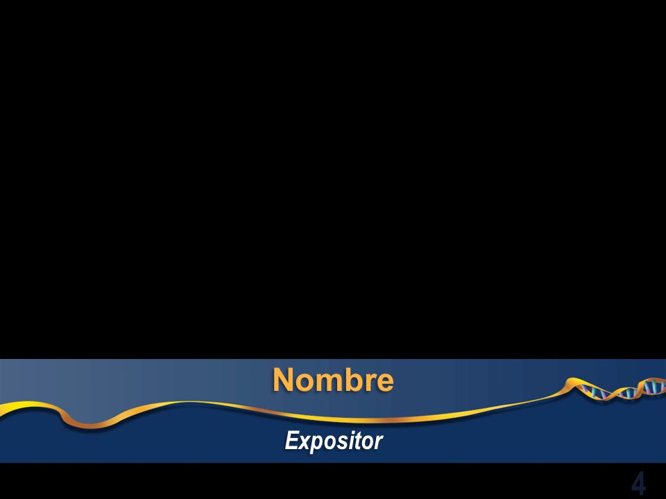 Nombre Expositor