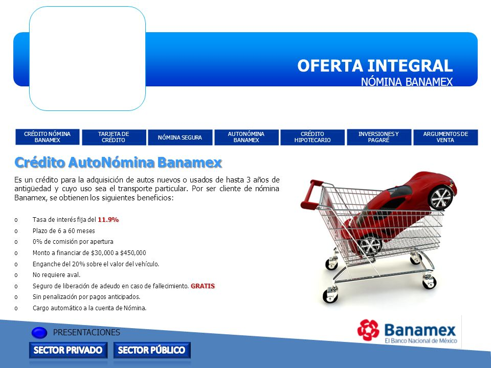 Cr dito n mina banamex ppt descargar - Financiar muebles sin nomina ...