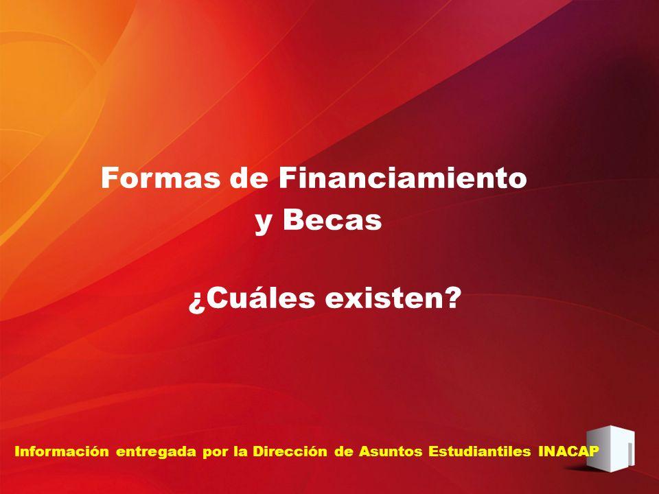 Información entregada por la Dirección de Asuntos Estudiantiles INACAP