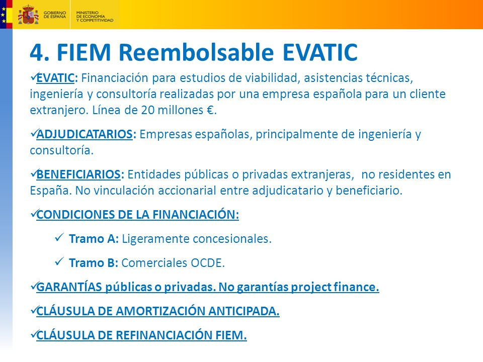 4. FIEM Reembolsable EVATIC