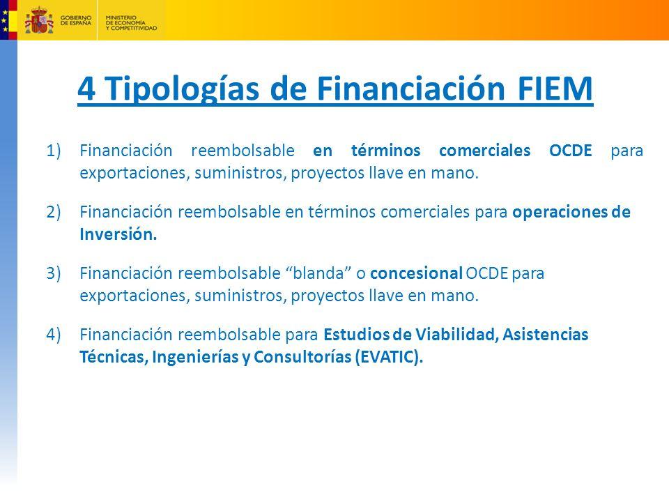 4 Tipologías de Financiación FIEM
